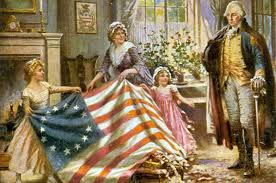 betsy ross and the beginning of the american flag