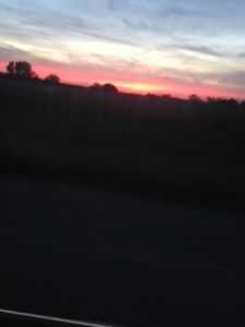 Iowa sunset part 1